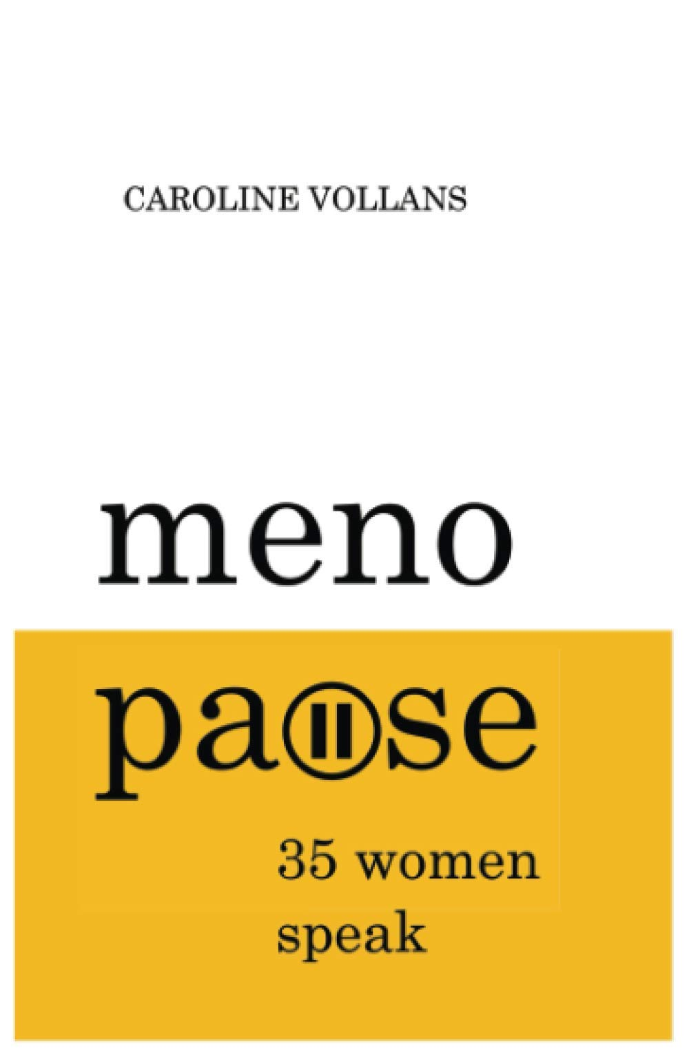 Menopause by Caroline Vollans book cover