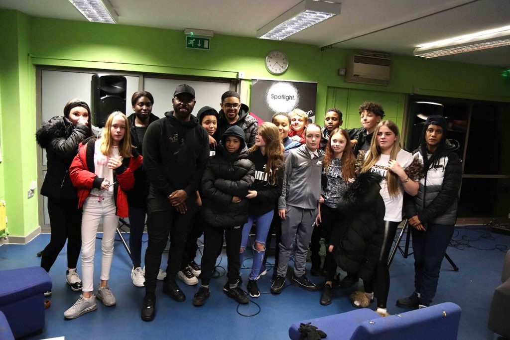The young people who took part in our Mad About Grime youth multimedia project