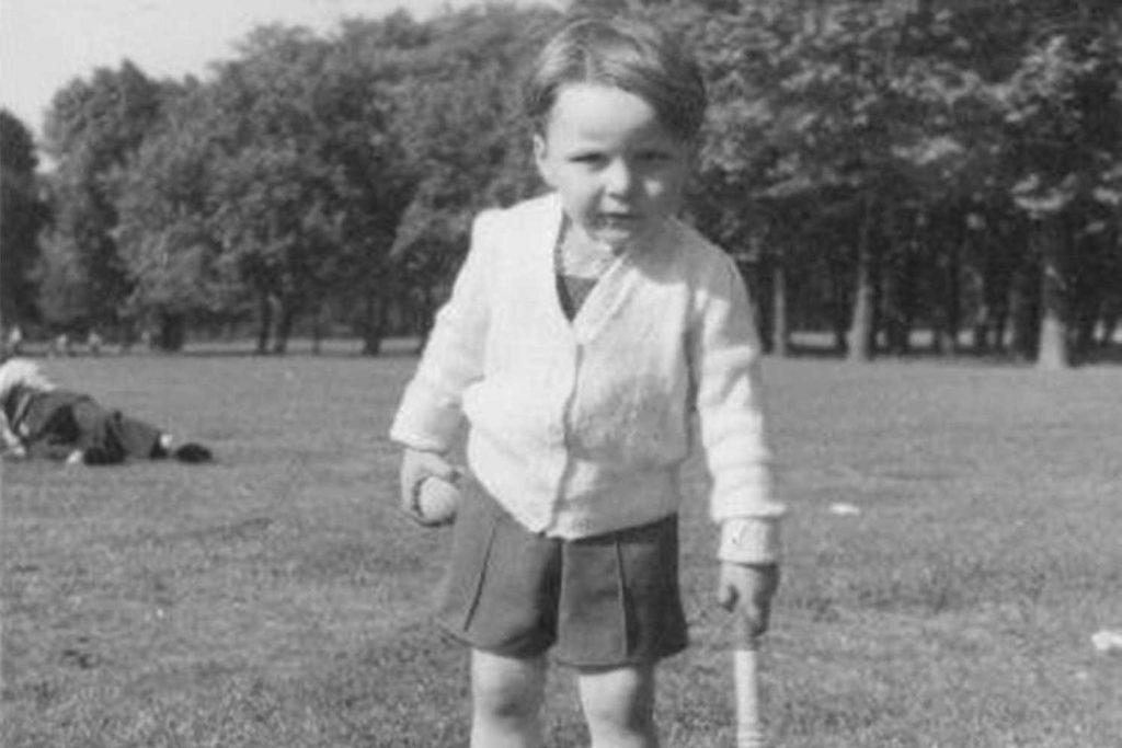 Young David in Victoria Park