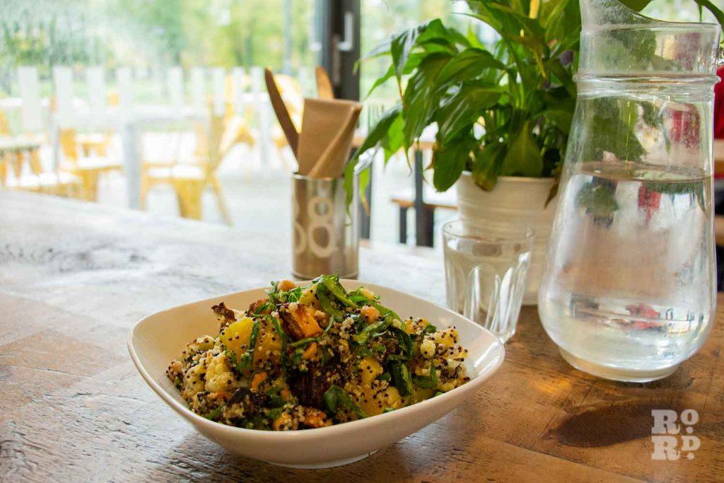 Salad, Hub Cafe Victoria Park London