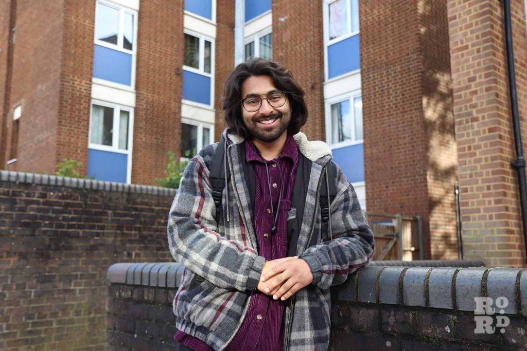Poet Ifti Latif on the Lanfranc Estate off Roman Road