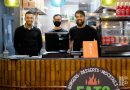 Owner Ali Emran and his staff at Eato, Roman Road