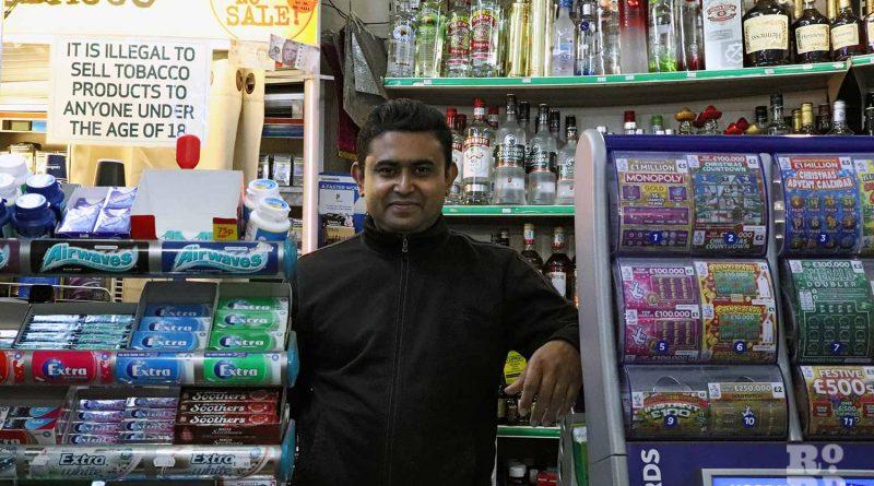Mohammed Huq, owner of Parnel Minimarket cornershop
