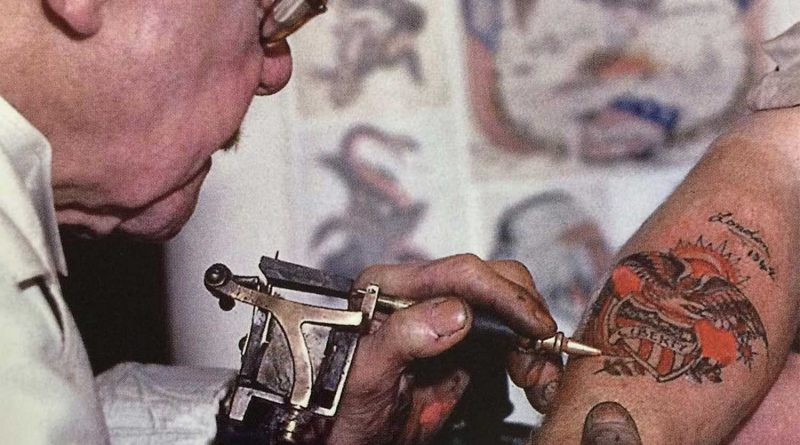 George Burchett of Bow, the King of Tattooist