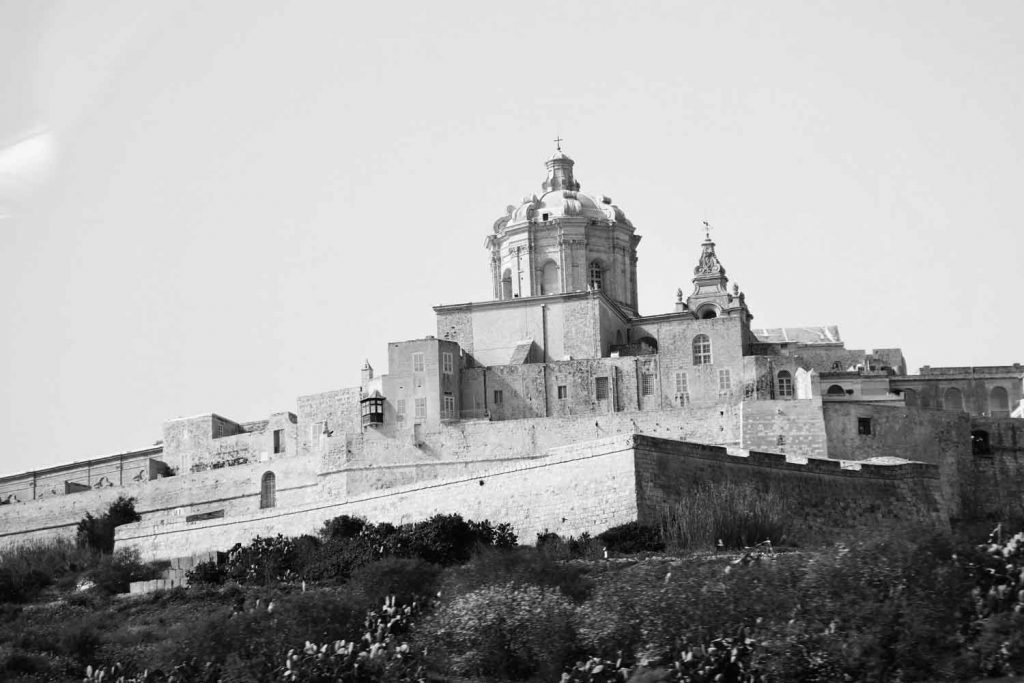 The Mdina in Malta where Norah Smyth lived while she worked for Times of Malta newspaper
