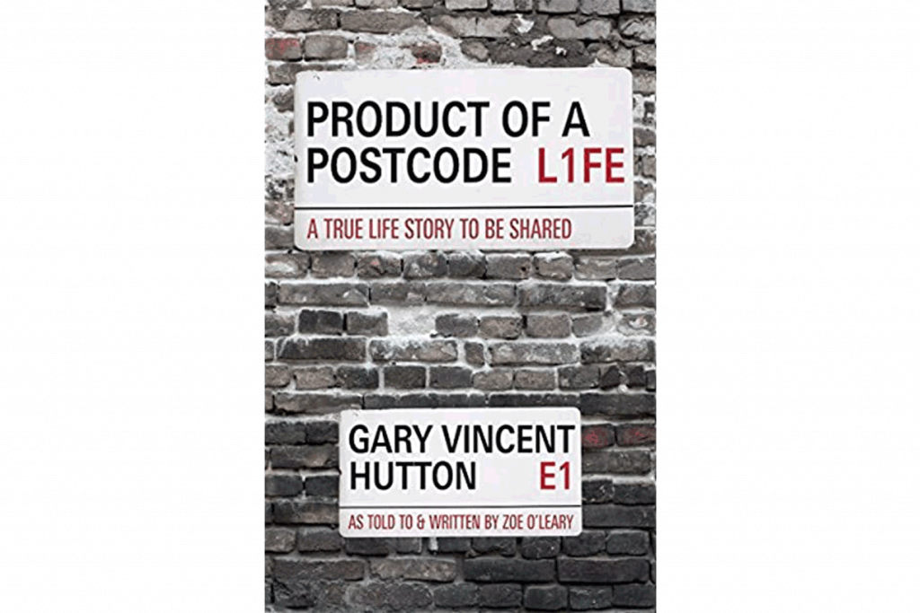 Product of A Postcode by Gary Hutton, book cover