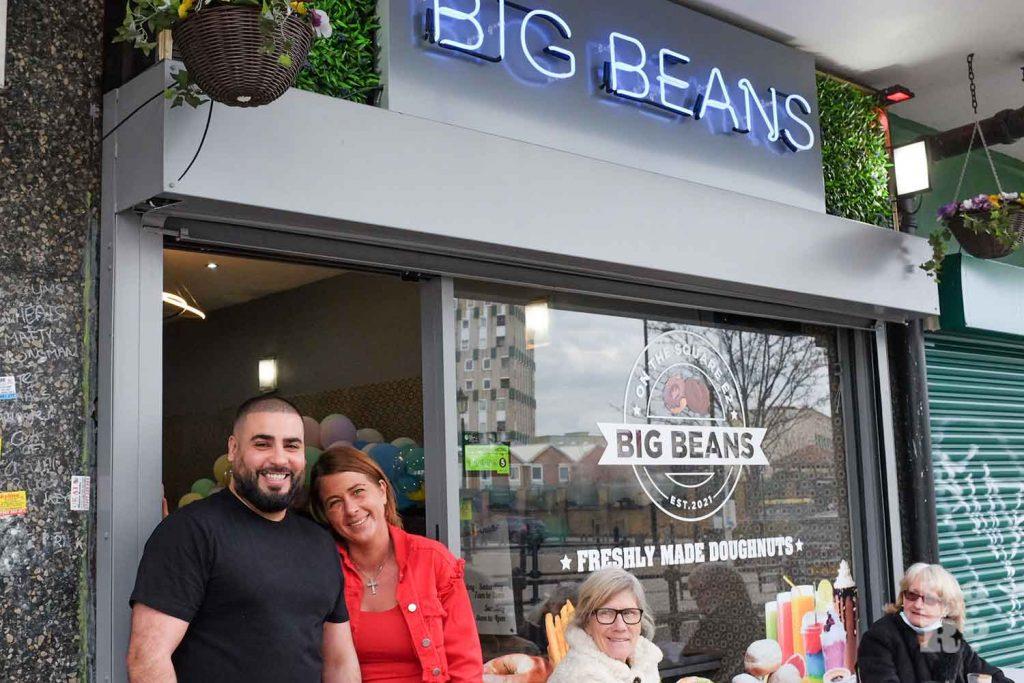 Big Beans, Globe Town, Roman Road