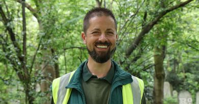 Ken Greenway, Cemetery Park Manager, Tower Hamlets Cemetery.