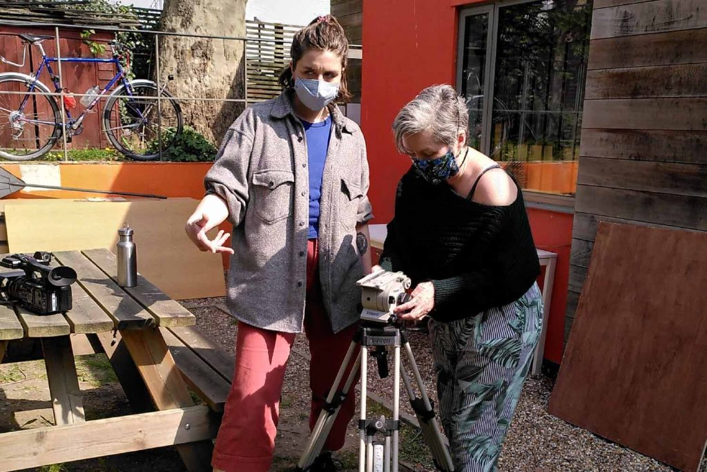 Four Corners runs a Zoom Film School for disadvantaged local residents