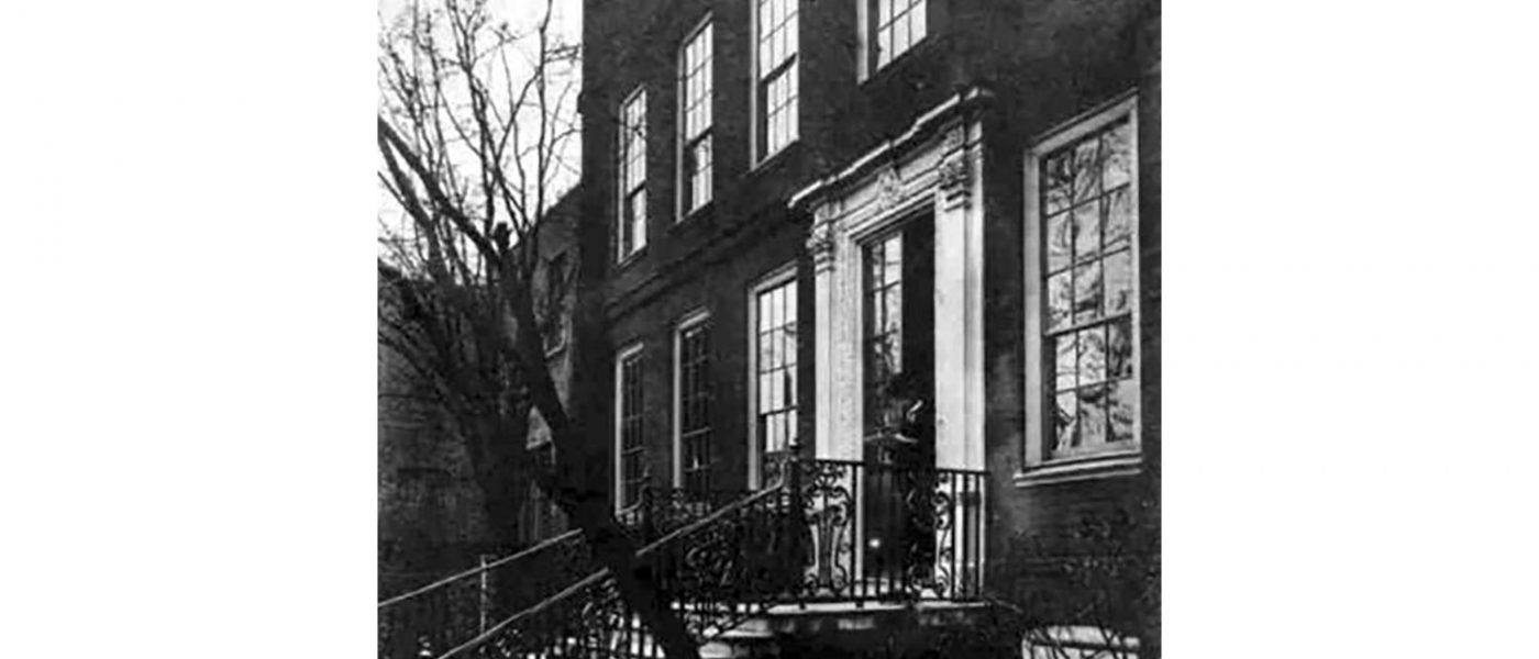 Photograph of Grove Hall, Bow, Tower Hamlets, dating from 1898.
