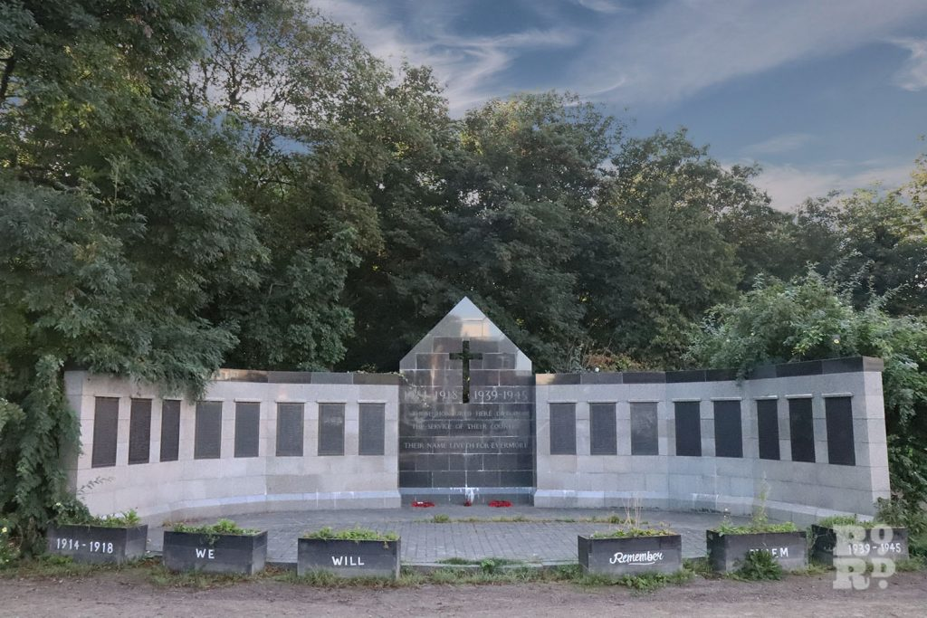 Tower Hamlets Cemetery Parks' War Memorial, East London
