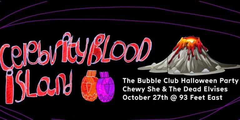 bubbleclub halloween party  768x384